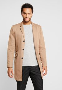 Only & Sons - ONSJULIAN KING COAT - Kort kappa / rock - camel - 0