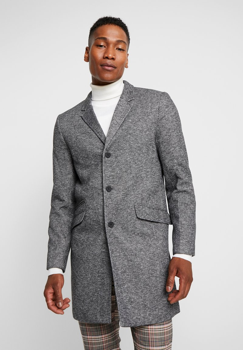 Only & Sons - ONSJULIAN KING COAT - Kurzmantel - dark grey melange