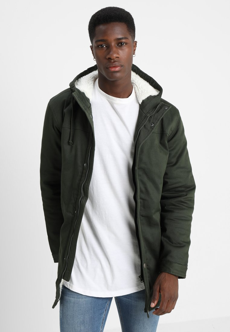 Only & Sons - ONSALEX TEDDY - Parka - olive night