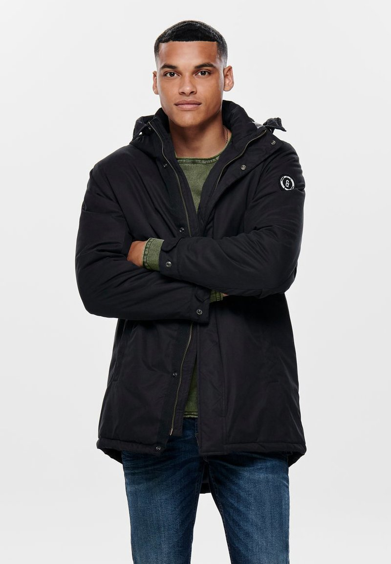 Only & Sons - ONSETHAN  - Parkas - black