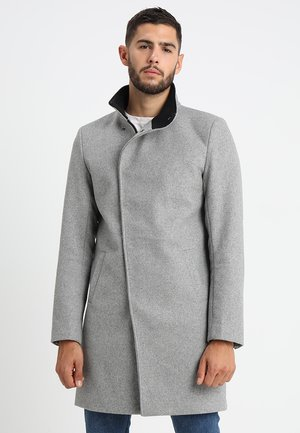 ONSOSCAR COAT - Classic coat - light grey melange