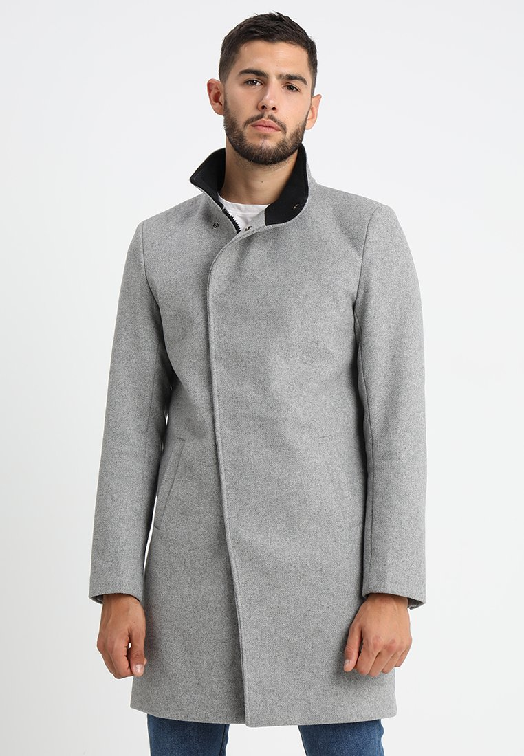 Only & Sons - ONSOSCAR COAT - Classic coat - light grey melange