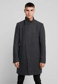 Only & Sons - ONSOSCAR COAT - Classic coat - dark grey melange - 0