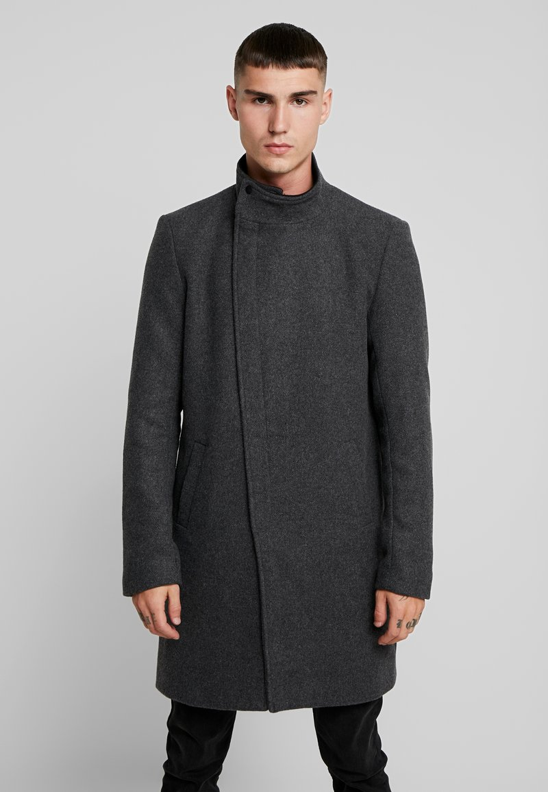 Only & Sons - ONSOSCAR COAT - Classic coat - dark grey melange