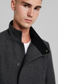 Only & Sons - ONSOSCAR COAT - Classic coat - dark grey melange - 6