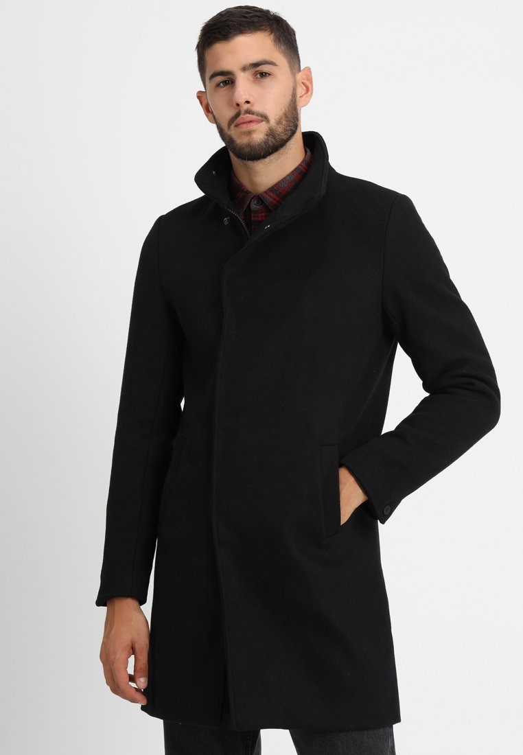 Only & Sons - ONSOSCAR COAT - Frakker / klassisk frakker - black