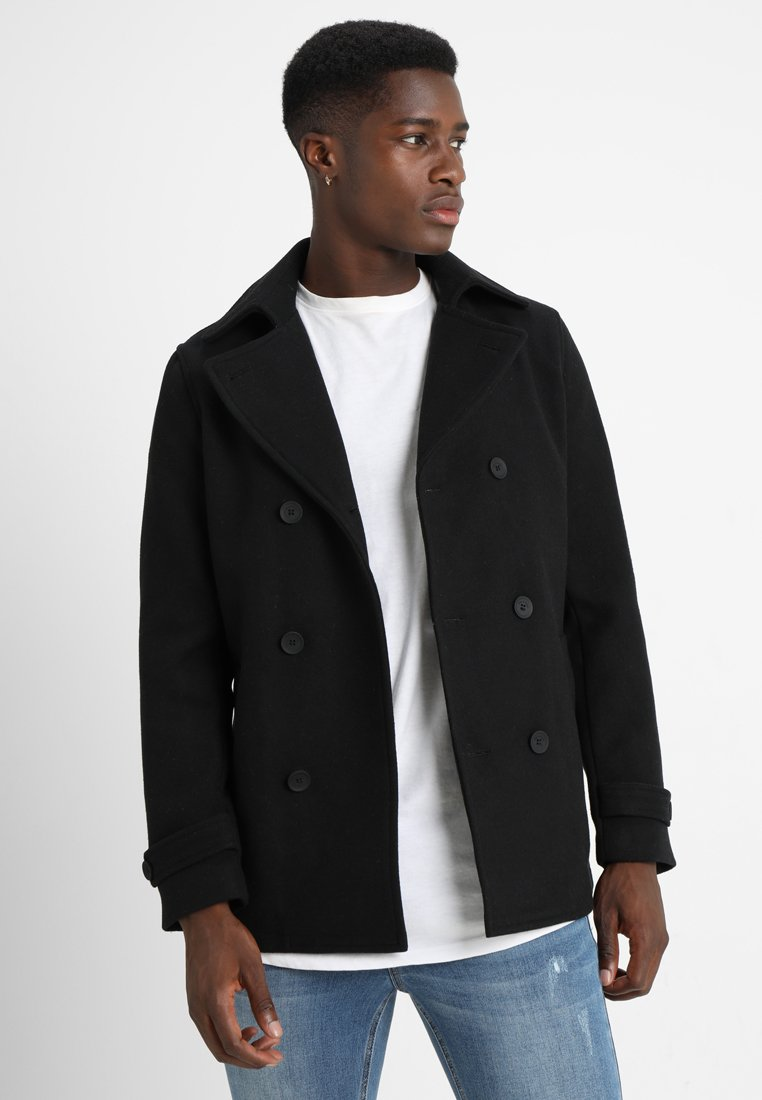 Only & Sons - ONSSUNE PEACOAT - Summer jacket - black