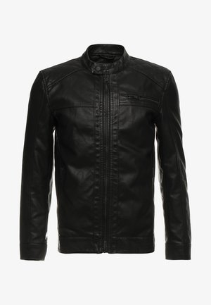 ONSAL  - Faux leather jacket - black