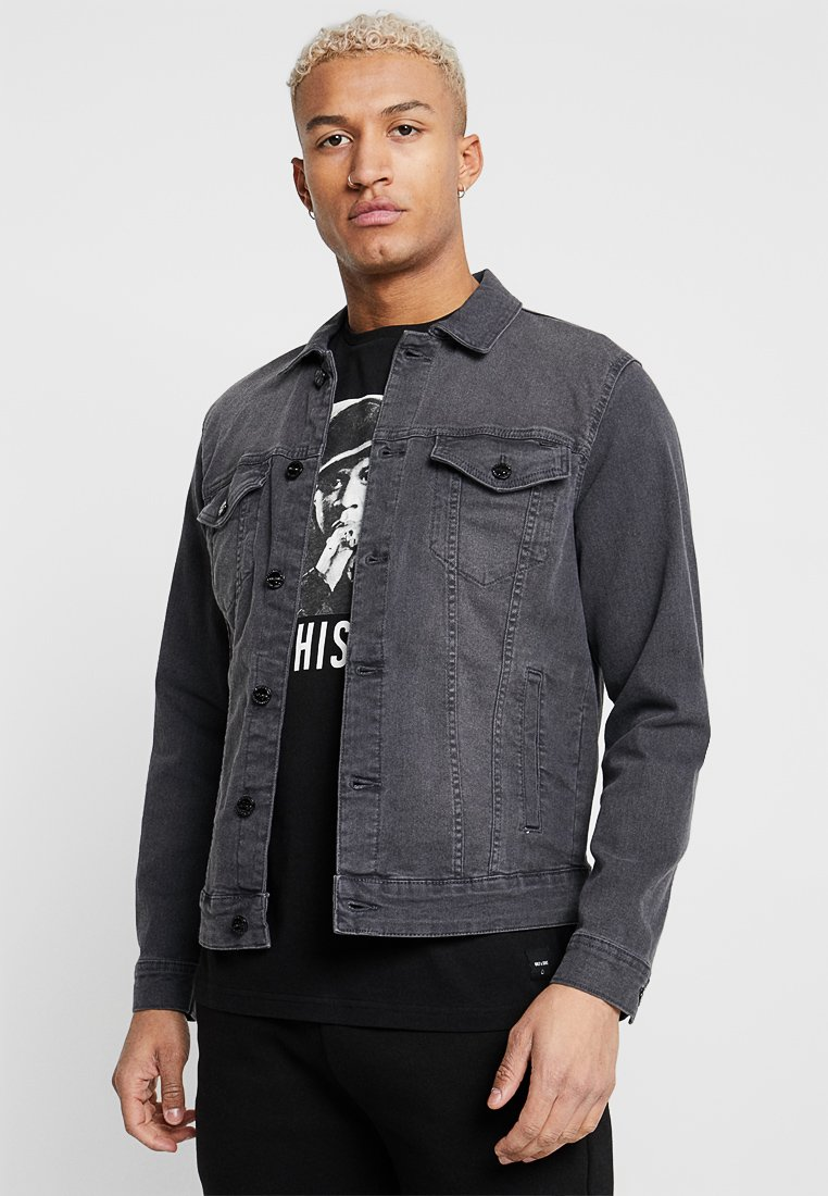Only & Sons - ONSCOIN TRUCKER  - Denim jacket - black denim