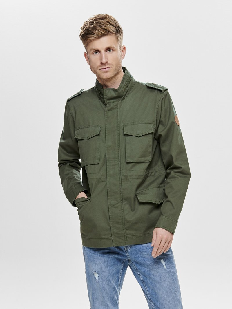 Only & Sons - Leichte Jacke - olive night