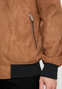 Only & Sons - ONSLEBRON JACKET - Faux leather jacket - monks robe - 6