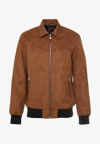 Only & Sons - ONSLEBRON JACKET - Faux leather jacket - monks robe - 5