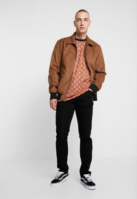 Only & Sons - ONSLEBRON JACKET - Faux leather jacket - monks robe - 1