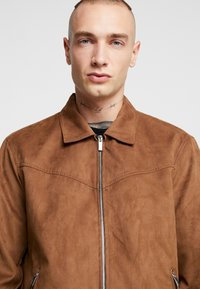 Only & Sons - ONSLEBRON JACKET - Faux leather jacket - monks robe - 4