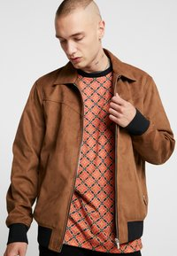 Only & Sons - ONSLEBRON JACKET - Faux leather jacket - monks robe - 3