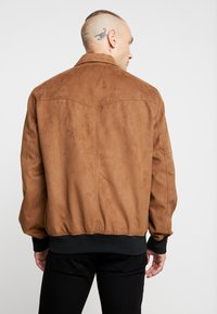 Only & Sons - ONSLEBRON JACKET - Faux leather jacket - monks robe - 2
