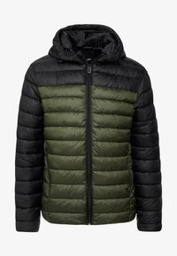 Only & Sons - ONSSTEVEN QUILTED HOOD JACKET - Light jacket - forest night - 3