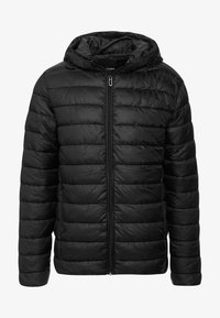 Only & Sons - ONSSTEVEN QUILTED HOOD JACKET - Chaqueta de entretiempo - black/solid - 3