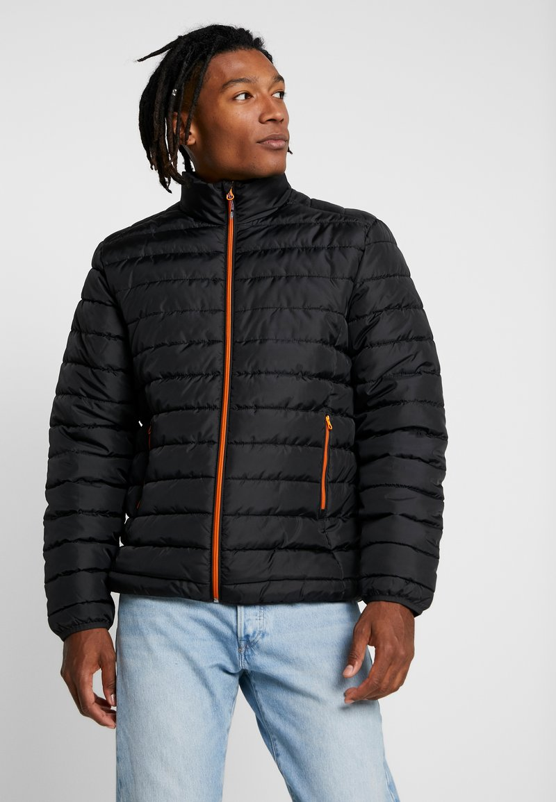 Only & Sons - ONSGEORGE QUILTED HIGHNECK - Jas - black