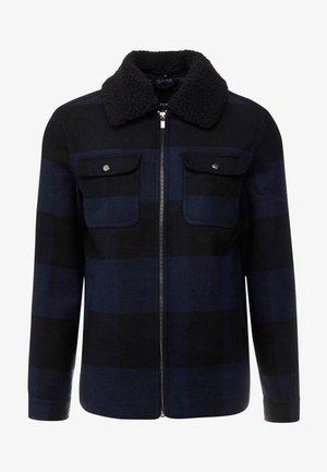 ONSROSS CHECK SHORT JACKET - Lehká bunda - estate blue/black