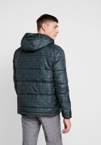 Only & Sons - ONSRICK CHECK HOODIE PUFFER  - Winterjas - forest night - 2