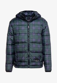 Only & Sons - ONSRICK CHECK HOODIE PUFFER  - Winterjas - forest night - 4