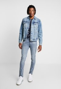 Only & Sons - ONSCOIN TRUCKER  - Denim jacket - blue denim - 1