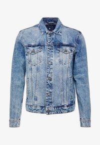 Only & Sons - ONSCOIN TRUCKER  - Denim jacket - blue denim - 3