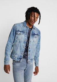 Only & Sons - ONSCOIN TRUCKER  - Denim jacket - blue denim - 0