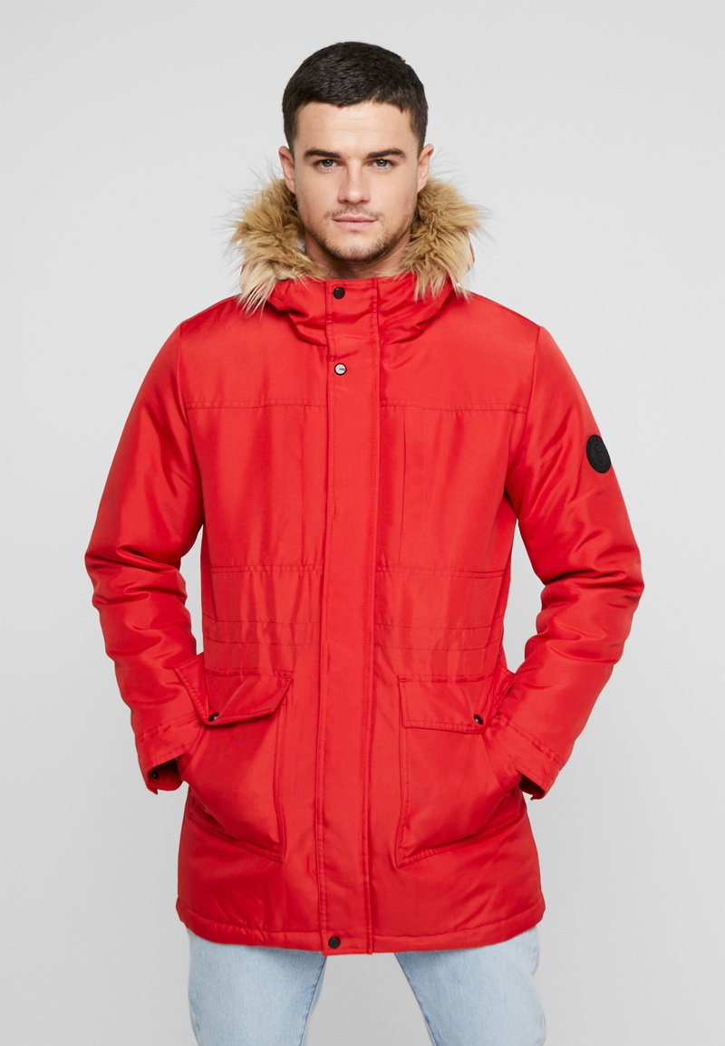 Only & Sons - ONSBASIL JACKET NOOS - Winter coat - pompeian red