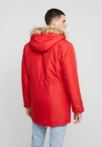 Only & Sons - ONSBASIL JACKET NOOS - Winter coat - pompeian red - 2