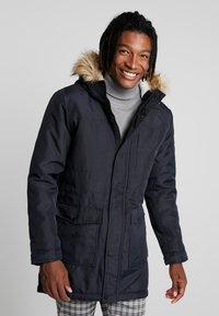 Only & Sons - ONSBASIL JACKET NOOS - Winter coat - dark navy - 0