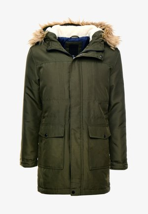 ONSBASIL JACKET NOOS - Winter coat - forest night