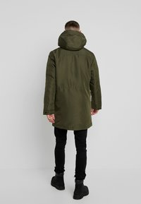 Only & Sons - ONSBASIL JACKET NOOS - Cappotto invernale - forest night - 3
