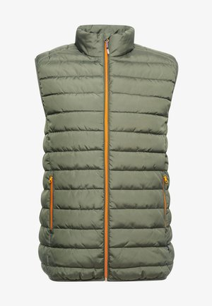 ONSGEORGE QUILTED WAISTCOAT - Chaleco - forest night