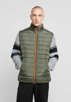 ONSGEORGE QUILTED WAISTCOAT - Väst - forest night