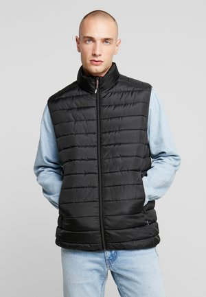 ONSGEORGE QUILTED WAISTCOAT - Chaleco - black