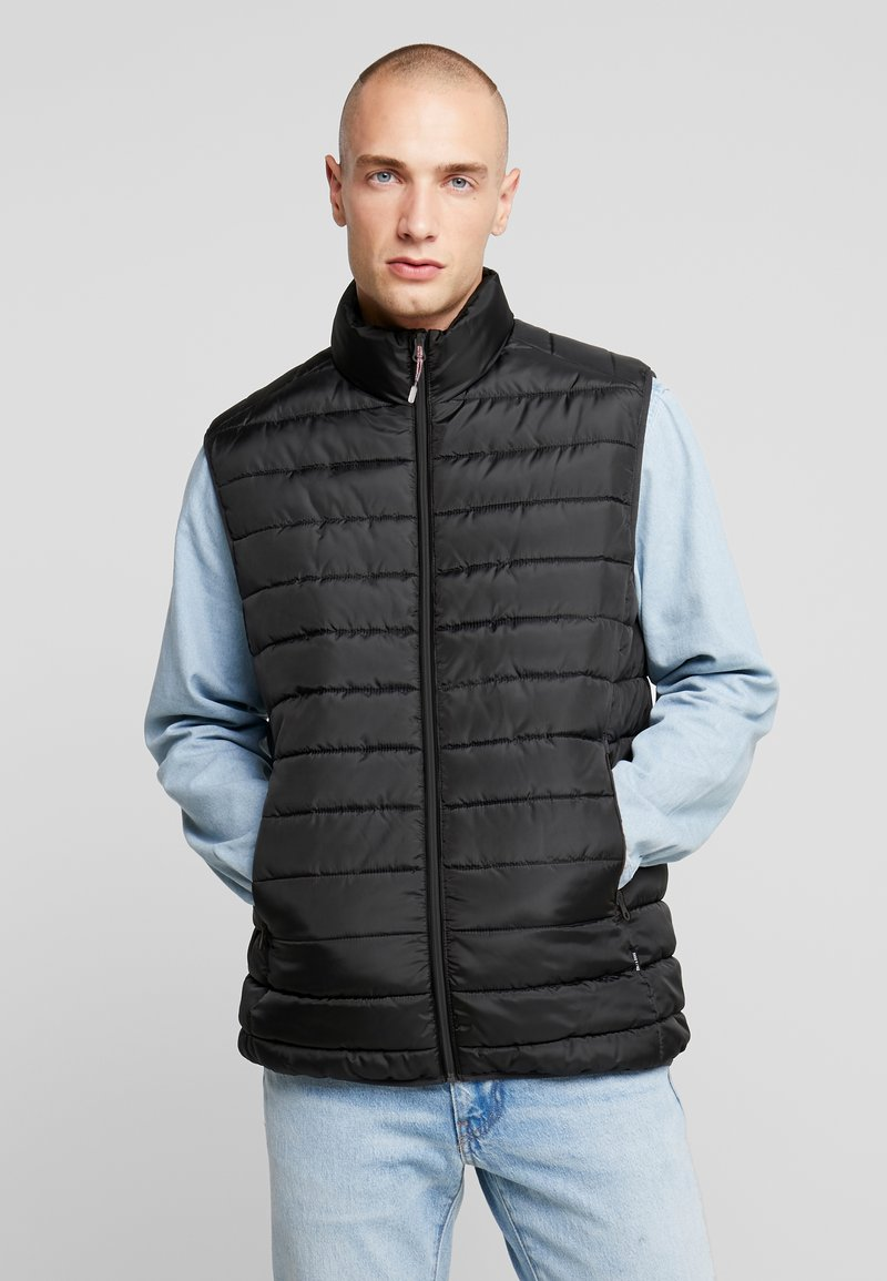 Only & Sons - ONSGEORGE QUILTED WAISTCOAT - Vest - black