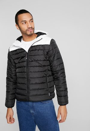 ONSGEORGE QUILTED HOOD - Veste mi-saison - cloud dancer