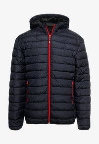 Only & Sons - ONSGEORGE QUILTED HOOD - Lett jakke - dark navy - 4