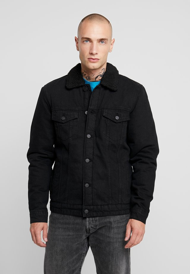 ONSLOUIS JACKET - Denim jacket - black denim