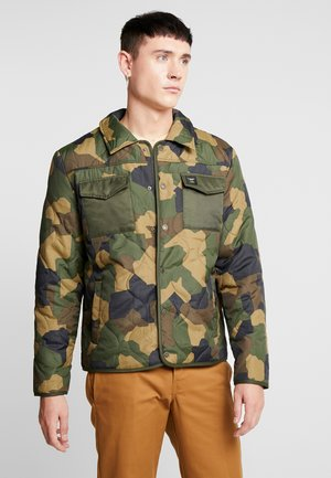ONSRAIN RIBSTOP QUILTED JACKET - Light jacket - forest night