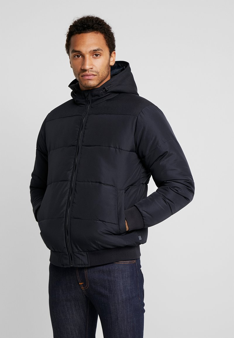 Only & Sons - ONSBOSTON HOOD JACKET - Zimní bunda - dark navy