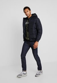 Only & Sons - ONSBOSTON HOOD JACKET - Zimní bunda - dark navy - 1