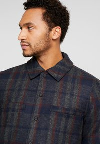Only & Sons - ONSDEAN CHECK - Chaqueta de entretiempo - dark navy - 4