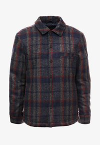 Only & Sons - ONSDEAN CHECK - Chaqueta de entretiempo - dark navy - 3