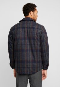 Only & Sons - ONSDEAN CHECK - Chaqueta de entretiempo - dark navy - 2