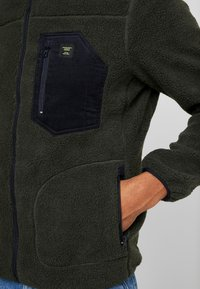 Only & Sons - ONSDOMINIC SHERPA HIGHNECK  - Veste polaire - forest night - 3