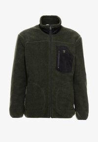 Only & Sons - ONSDOMINIC SHERPA HIGHNECK  - Veste polaire - forest night - 4