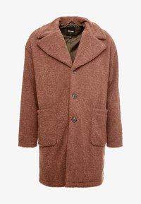 Only & Sons - ONSBASE LONG TEDDY COAT  - Short coat - monks robe